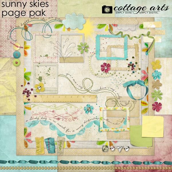 Sunny Skies Page Pak