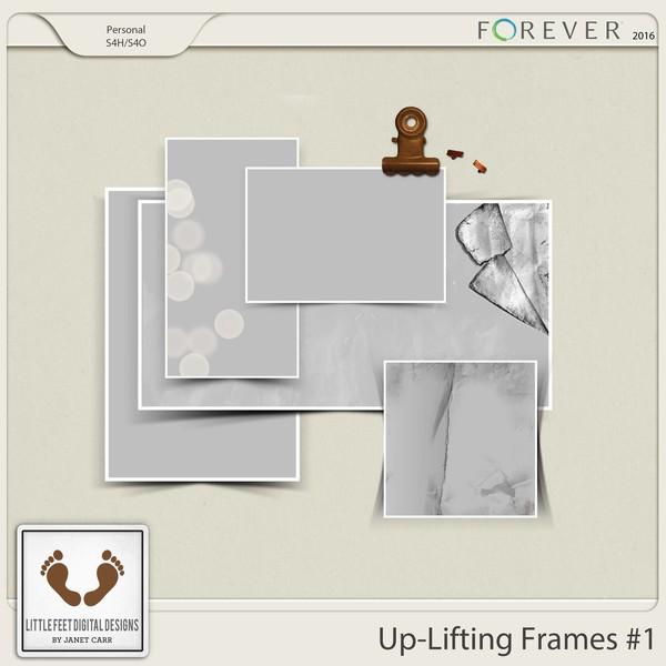 Up-lifting Frames And Overlays Series #1