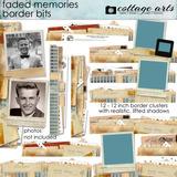 Faded Memories Border Bits