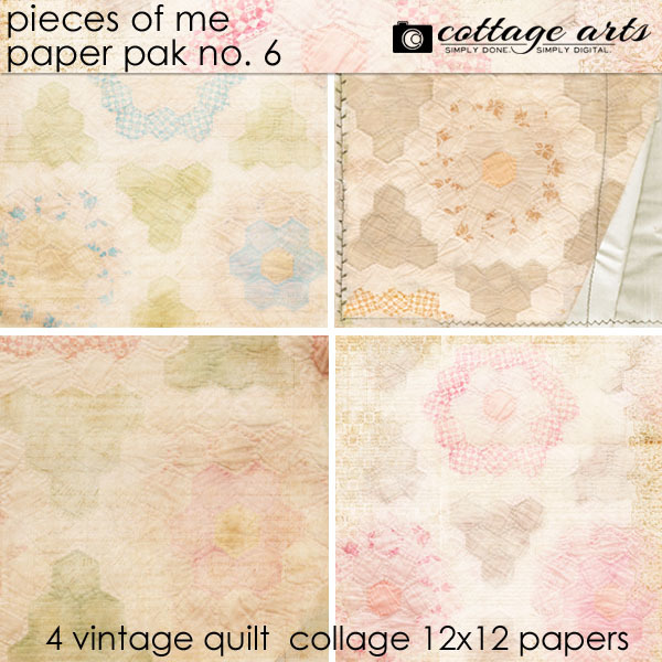Pieces Of Me 6 Paper Pak