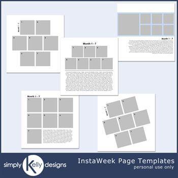Instaweek Page Templates