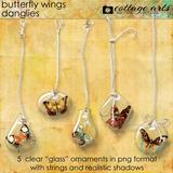 Butterfly Wings Danglies