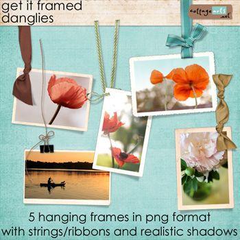 Get It Framed Danglies