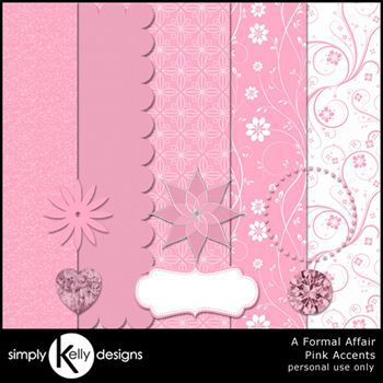 Candy Pink Accents - A Formal Affair
