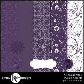 Purple Accents - A Formal Affair