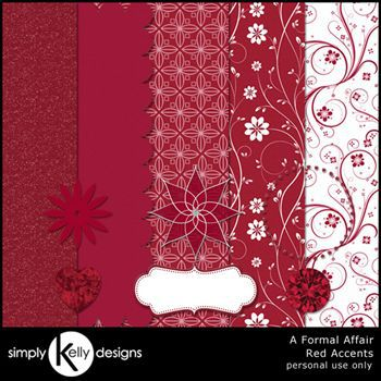 Red Accents - A Formal Affair