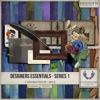 Designers Essentials Series 1 Stained Mini Kit Era
