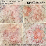 Pieces Of Me 13 Paper Pak