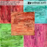 Painter's Canvas 1 Paper Pak