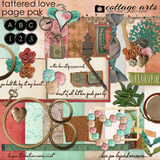 Tattered Love Page Pak