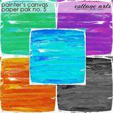 Painter's Canvas 5 Paper Pak