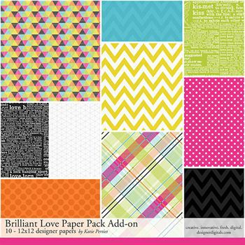 Brilliant Love Add-on Paper Pack