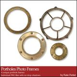Porthole Photo Frames
