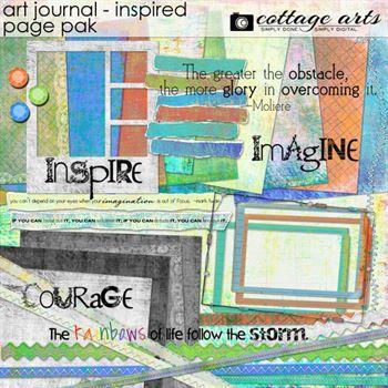 Art Journal - Inspired Page Pak