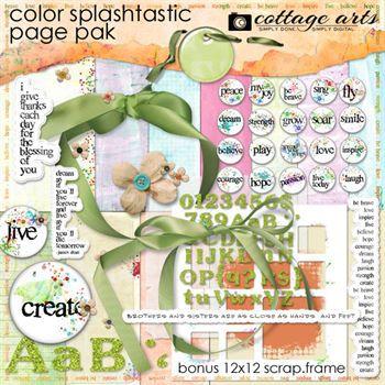 Color Splashtastic Page Pak