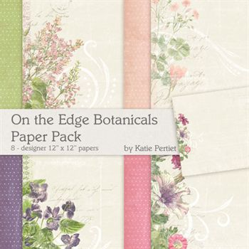 On The Edge Botanicals No.1 Paper Pack