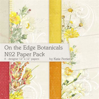 On The Edge Botanicals No.2 Paper Pack