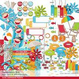Swimmies Scrapbook Kit