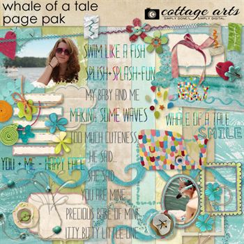 Whale Of A Tale Page Pak