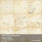 Letter Box Naturalist Paper Pack