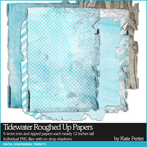 Tidewater Roughed Up Paper Pack