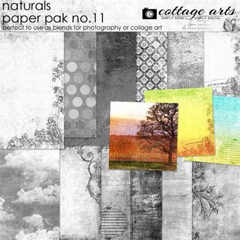 Naturals 11 Paper Pak