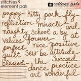 Stitchies 9 Element Pak