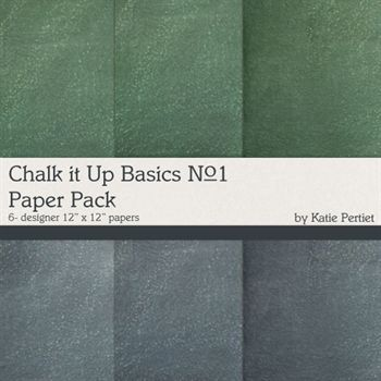 Chalk It Up Basics Paper Pack No.1