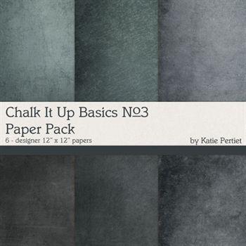 Chalk It Up Basics Paper Pack No.3