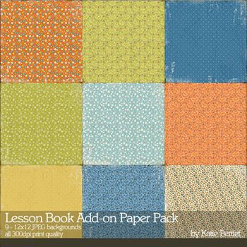 Lesson Book Add-on Paper Pack