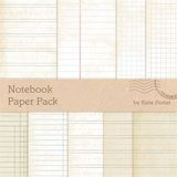 Notebook Paper Pack No.1