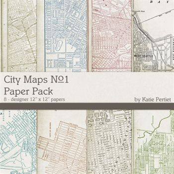 City Maps Paper Pack No. 1
