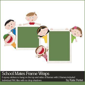School Mates Frame Wraps