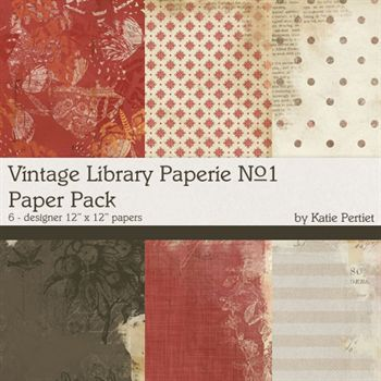 Vintage Library Paperie No.1