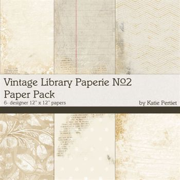 Vintage Library Paperie No.2