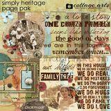 Simply Heritage Page Pak