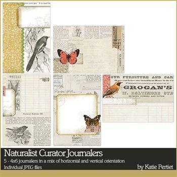 Naturalist Curator Journalers