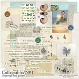 Collageables Element Pack No.1