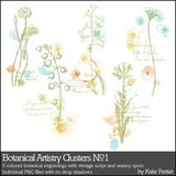 Botanical Artistry Clusters No.1