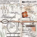 Budding Romance Page Pak
