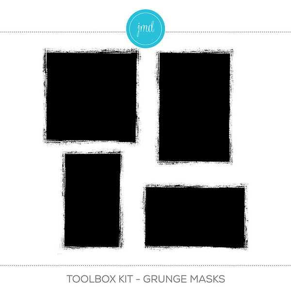 Toolbox Kit - Grunge Masks