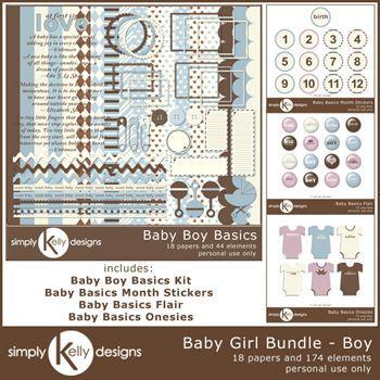 Baby Basics Bundle - Boy