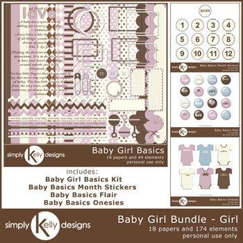 Baby Basics Bundle - Girl