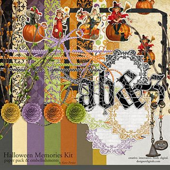 Halloween Memories Kit