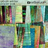 Urban Winter Paper Pak