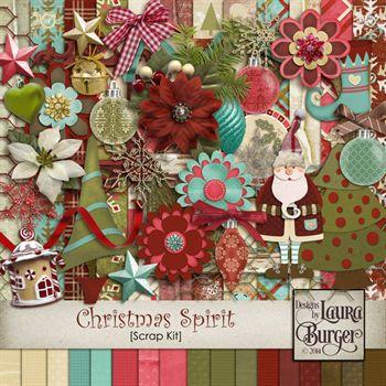 Christmas Spirit Scrap Kit