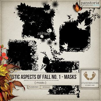 Artistic Aspects Fall Masks No. 1