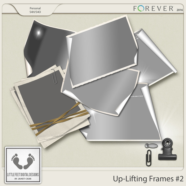 Up-lifting Frames And Overlays Series #2