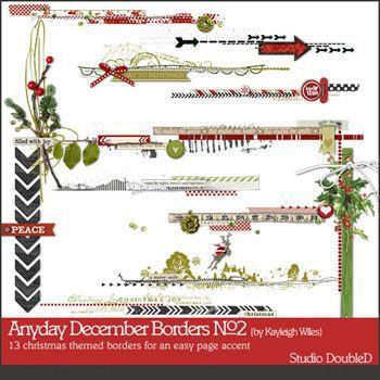 Anyday December Borders No2