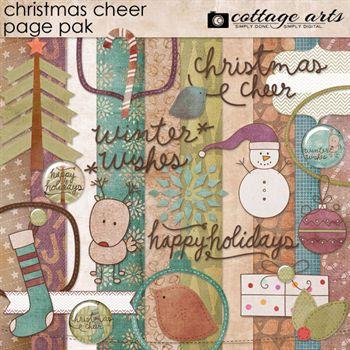 Christmas Cheer Page Pak
